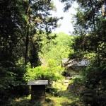 裏山からの屋敷